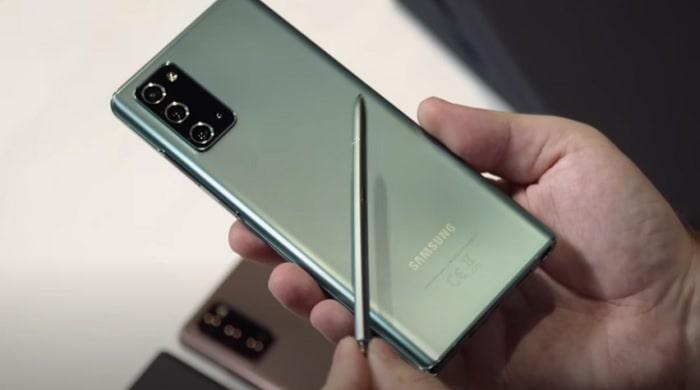 Samsung Galaxy Note 20 Ultra обзор